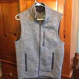Gray/Grey Vest - Beverly Hills Polo Club - Men's